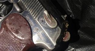 пистолет ТТ. Фото: http://nac.gov.ru/nakmessage/2015/08/26/glavar-tn-severnogo-sektora-bandpodpolya-neitralizovan-v-dagestane.html