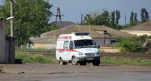Машина скорой медицинской помощи. Фото Магомеда Магомедова