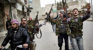 Боевики в Сирии. Фото: http://armenpress.am/rus/news/791294/