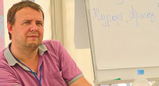 Заместитель генерального директора ОАО «Курорты Северного Кавказа» Максим Губа. Фото предоставлено пресс-службой КСК