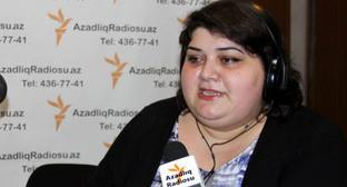 Хадиджа Исмайлова. Фото: Turkhan Kerimov (RFE/RL)