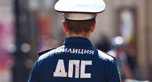 Сотрудник ДПС. Фото: Юрий Гречко / Югополис