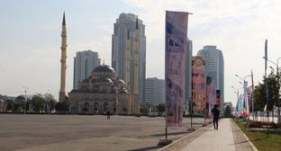 """Мечеть """"Сердце Чечни"""". Грозный. Фото Магомеда Магомедова для """"Кавказского узла"""""""
