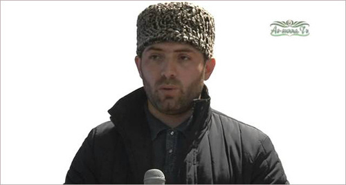 Магомед Хидиров. Фото: Стоп-кадр видео  https://www.youtube.com/watch?v=CGdzBCOg8_k