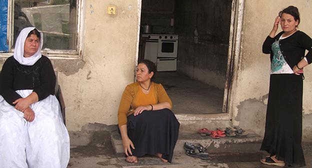 "Езиды-беженцы из Ирака. Фото Тиграна Петросяна для ""Кавказского узла"""