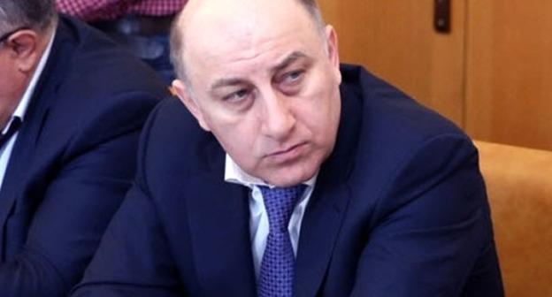 Министр финансов Дагестана Али Исламов. Фото http://www.riadagestan.ru/