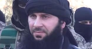 Салахуддин Шишани (Фейзулла Маргошвили), декабрь 2014 года. Фото: ShamInfo TV, Youtube.com