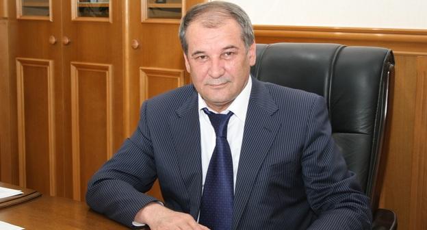 Малик Баглиев. Фото: http://www.dagmintrud.ru/info/rukovodstvo/bagliev-malik-dzhamedinovich/