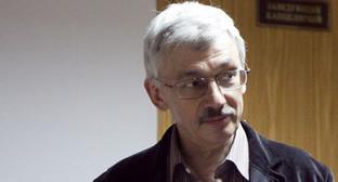 Олег Орлов. Фото: Юрий Тимофеева, RFE / RL, http://www.svoboda.org/content/news/24234796.html