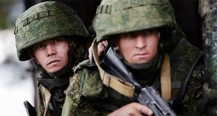 Военнослужащие ВС России во время учений. Фото: http://мультимедиа.минобороны.рф/multimedia/photo/gallery.htm?id=25291@cmsPhotoGallery