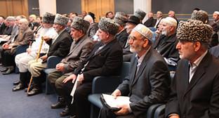 Совет тейпов Ингушетии. Фото: http://www.ingushetia.ru/