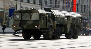 """Пусковая установка """"Искандер"""". Фото: https://ru.wikipedia.org/wiki/Искандер_(ОТРК)"""