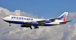 """Самолет авиакомпании """"Трансаэро"""". Фото: Ken Fielding/http://www.flickr.com/photos/kenfielding"""