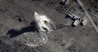 Авиаудар по по объектам террористической организации ИГИЛ. Фото: http://function.mil.ru/news_page/country/more.htm?id=12060572@egNews