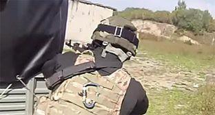 Сотрудник Спецназа. Фото: Стоп-кадр видео Спец наз, http://www.youtube.com/watch?v=m4BF7aTjoh0