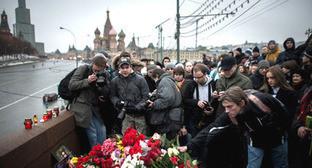 На месте убийства Бориса Немцова. Москва, март 2015 г. Фото: Сергей Карпов / Югополис