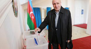 Парламенсткие выборы в Азербайджане. 1 ноября 2015 года. Фото Азиза Каримова