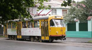 Владикавказский трамвай. Фото: МаратС, https://ru.wikipedia.org/wiki/Владикавказский_трамвай#/media/File:Vladtramv.jpg