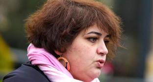 Хадиджа Исмайлова. Фото: RFE/RL http://www.svoboda.org/