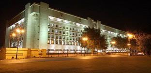 Здание министерства национальной безопасности Азербайджана. Фото: http://www.mns.gov.az/ru/