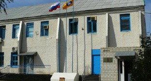 Здание ИК-1 в Калмыкии. Фото: http://ru.esosedi.org/RU/KL/1000091359/ik_1/