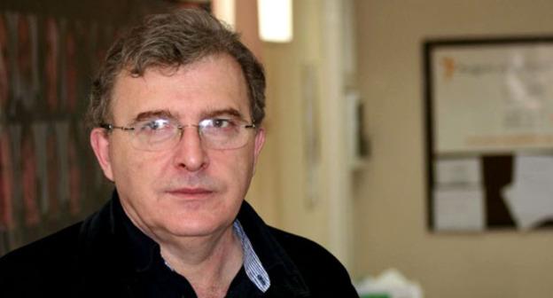 Директор Института стратегических исследований Кавказа Мамука Арешидзе. Фото: Gocha Lezhava (RFE/RL)