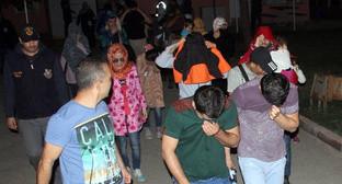 Задержанные в турецком городе Адана 14 граждан Азербайджана, собиравшихся примкнуть к «Исламскому государству». Фото: http://vesti.az/news/270550#ad-image-0