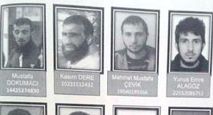 Ориентировка на граждан Азербайджана, распространенная турецкими спецслужбами. Фото: МВД Турции