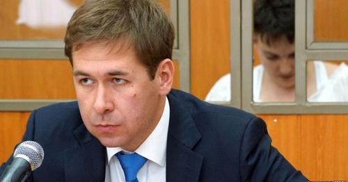 Адвокат Надежды Савченко Илья Новиков. Фото: Anton Naumlyuk (RFE/RL)