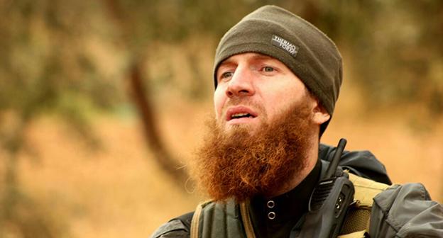 Абу Омар аш-Шишани  (Тархан Батирашвили). Фото: http://frontnews.ge/ru/news/57344-Омар--Шишани-возвращается-в-Грузию