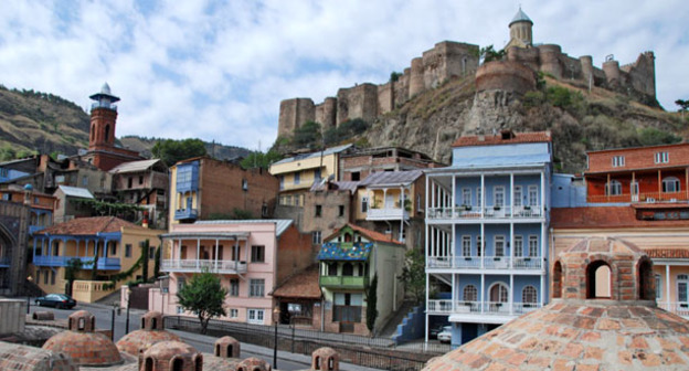 Абанотубани — старейший квартал Тбилиси. Фото: ilan molcho https://ru.wikipedia.org/