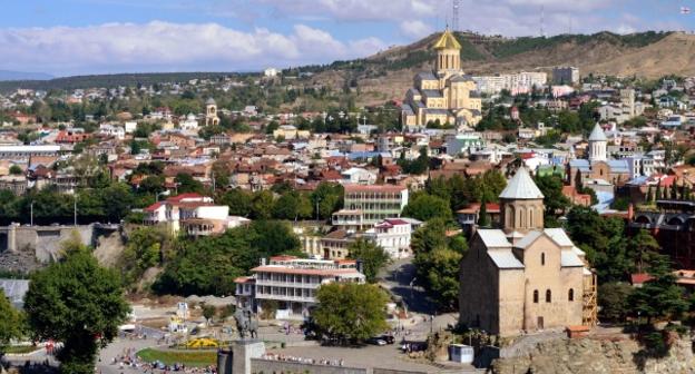 Панорама Тбилиси. Фото: Georgia.org.ua