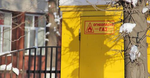 """Газовый щит. Фото Магомеда Магомедова для """"Кавказского узла"""""""