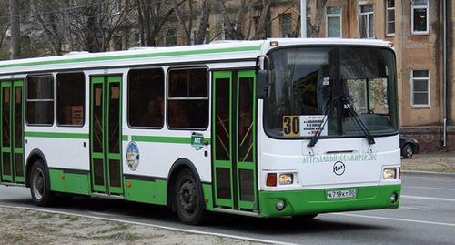 автобус в Астрахани. Фото: http://news.astr.ru/news/services/16724/