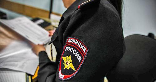 Сотрудник полиции. Фото: Денис Яковлев / Югополи