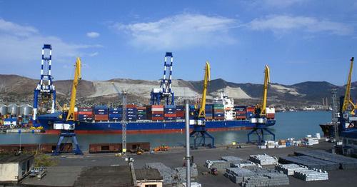 Новороссийский морской порт. Фото: пользователя ngtv с сайта Flickr.com