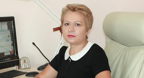 Екатерина Лукьяненко. Фото: http://astra-novosti.ru/ekaterine-lukyanenko-eks-ministru-astrahanskogo-minsotsa-prodlili-arest/