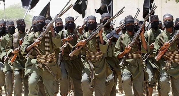 Боевики ИГ (ранее ИГИЛ, признано террористической организацией в России, США и ряде других стран, его деятельность запрещена) Фото:  http://rusvesna.su/news/1445597534