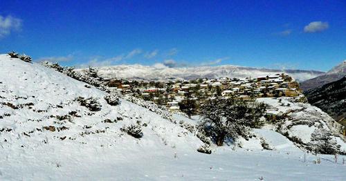 Село Харачи Унцукульского района Дагестана. Фото: Ахмед Магомедов http://www.odnoselchane.ru/