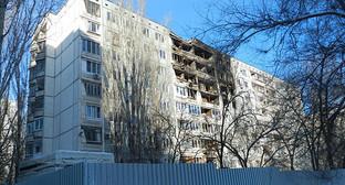 """Разрушенный дом в Волгограде. Фото Татьяны Филимоновой для """"Кавказского узла"""""""