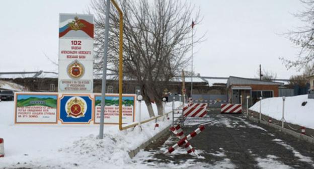 102-я российская военная база в Гюмри. Армения. Фото: Sergey Khazov-Cassia (RFE/RL)
