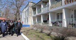 Дом отдыха, в котором проживают жители Украины. Ростовская область. Фото: сайт Правительства Ростовской области