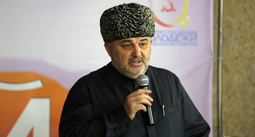 Иса Хамхоев. Фото: http://www.islamrf.ru/news/russia/rusnews/33238/