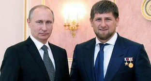 Президент России Владимир Путин и глава Чечни Рамзан Кадыров. Фото: Instagram.com/kadyrov_95