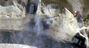 Момент обстрела позиций противника артиллерией Азербайджана. Фото: скриншот видеозаписи, Mod.gov.az