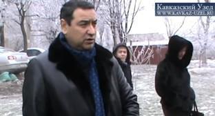 "Виктор Тураев. Кадр из видео ""Кавказского узла"""