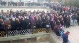 """Участники митинга в Буйнакске. 5 февраля 2016 года. Фото Патимат Махмудовой для """"Кавказского узла"""""""