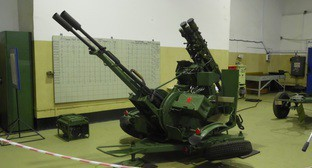 Модернизированная зенитная установка ЗУ-23/30 М1-4. Фото: http://www.riadagestan.ru/news/society/v_dagestane_nachnut_konstruirovat_unikalnye_zenitnye_ustanovki/