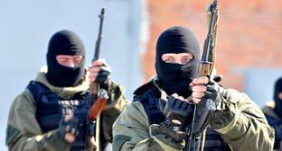 Бойцы чеченского спецназа. Фото http://www.yuga.ru/news/364289/