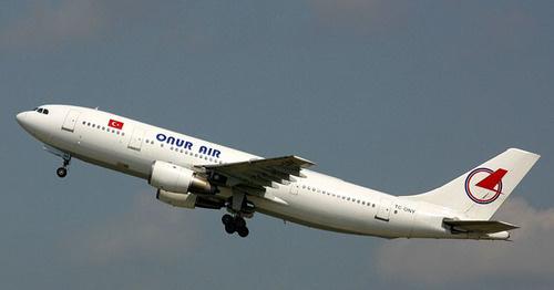 Самолет турецкой авиакомпании Onur Air. Фото: Paul Spijkers https://en.wikipedia.org